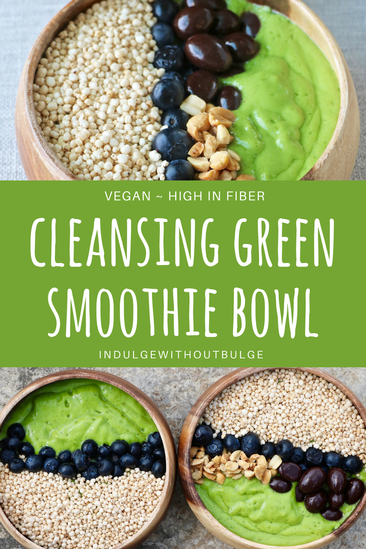 CLEANSING GREEN SMOOTHIE BOWL