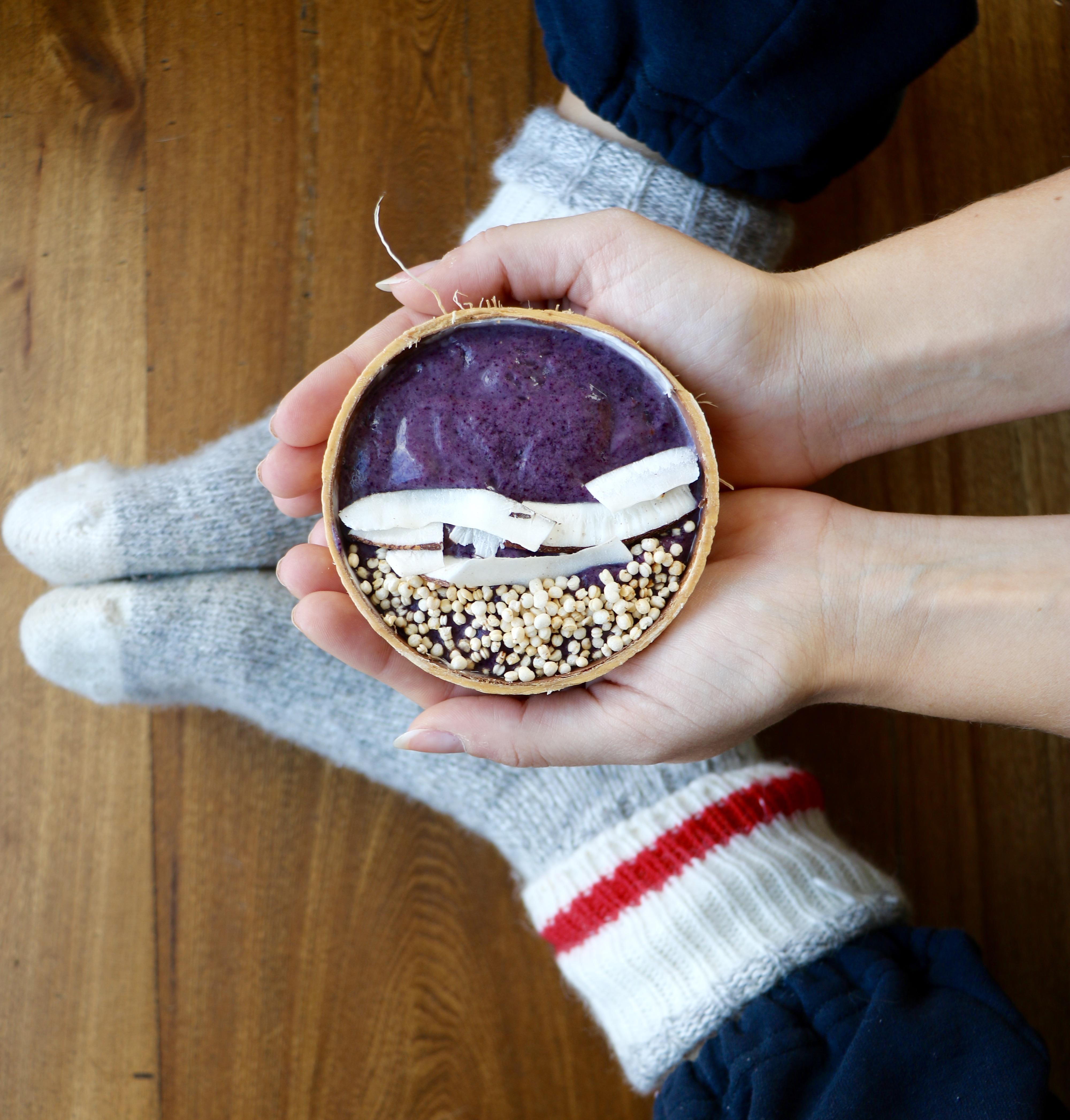 Purple Smoothie Bowl