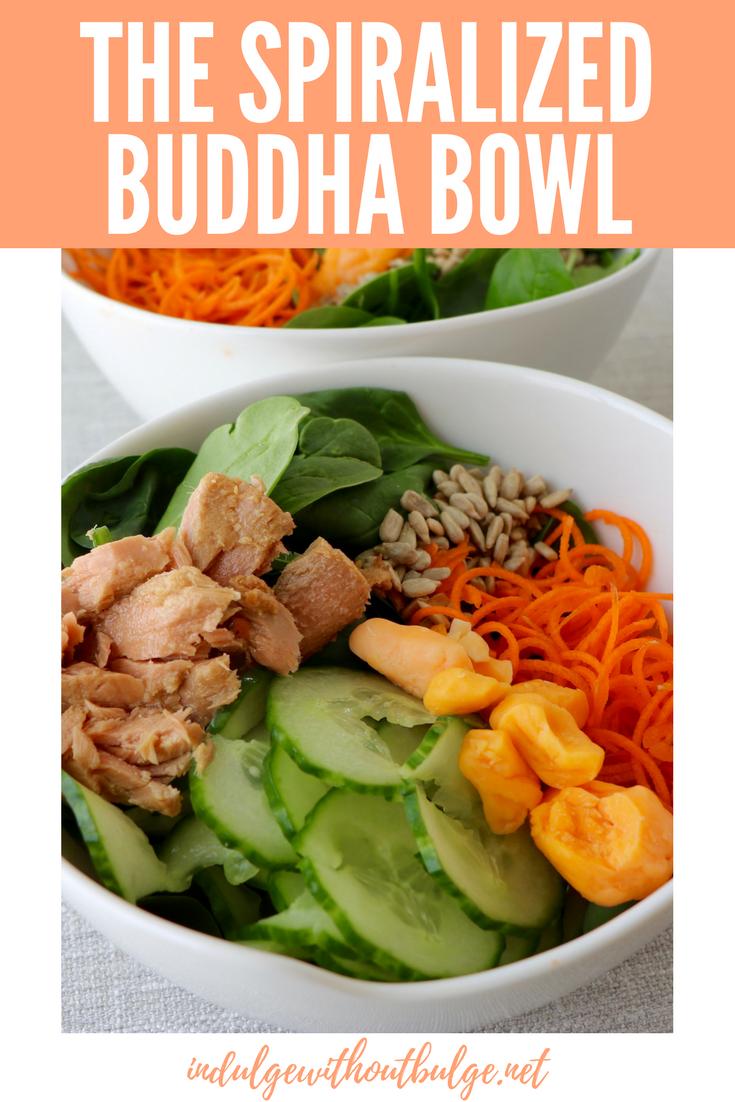 spiralized buddha bowl
