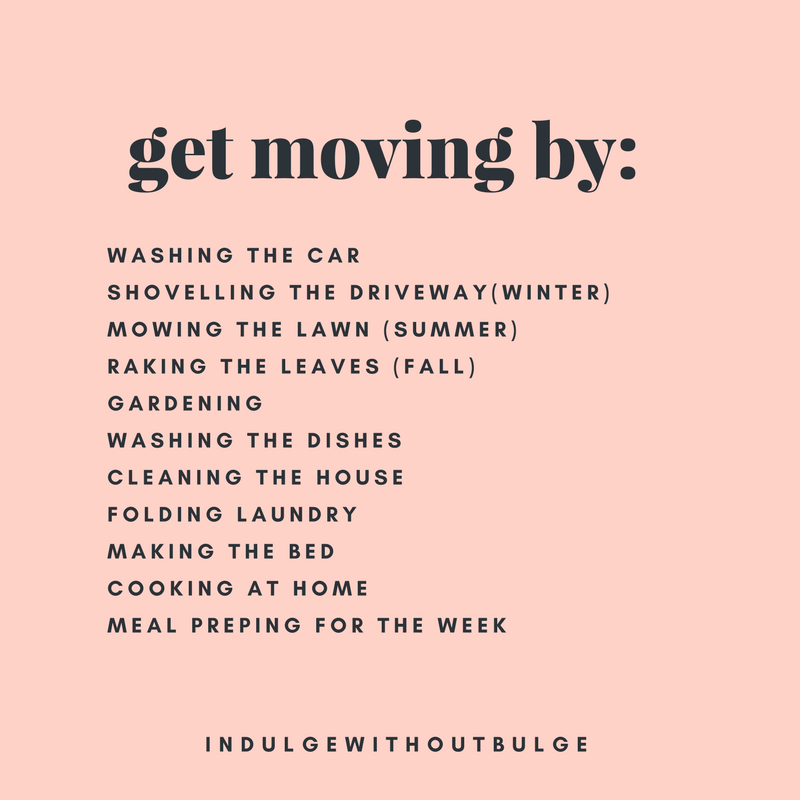get moving by