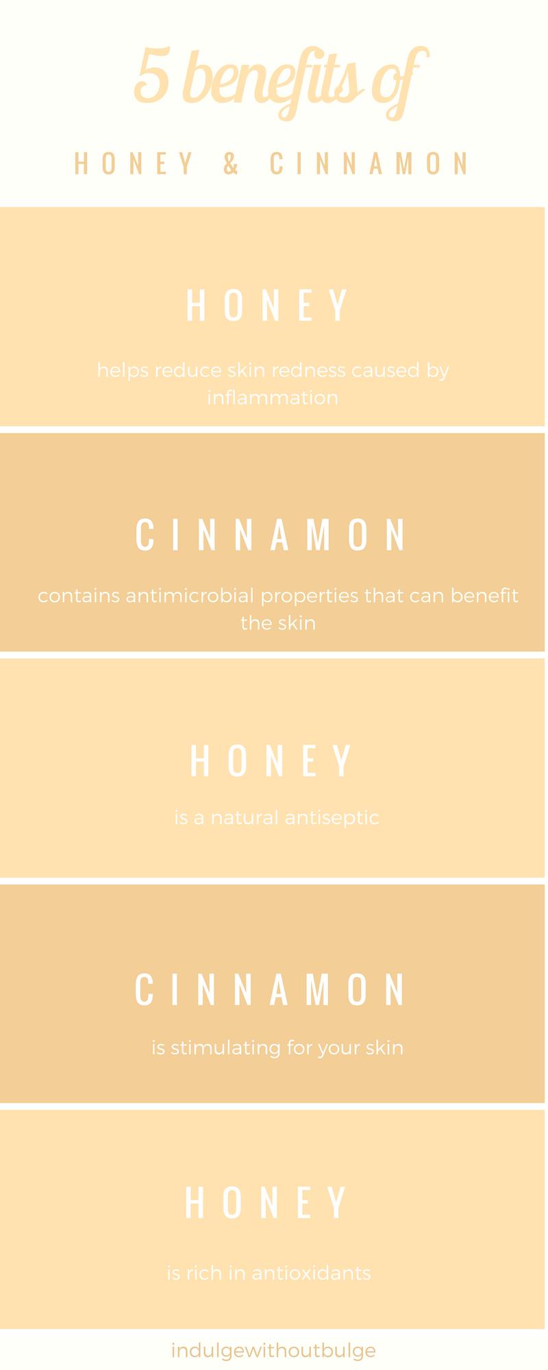 5 benefits of cinnamon and honey